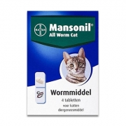 Mansonil All Worm Kat | 4 tabletten