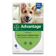 Advantage 400 | Hond 25-40kg | 4 pipetten