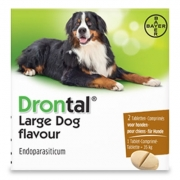 Drontal Grote Hond Flavour   2 tabl