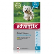 Advantix 100/500 | Dog 4-10 kg | 6 pipettes