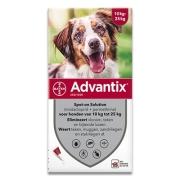 Advantix 250/1250 | Hund 10-25 kg | 6 pipetten EU