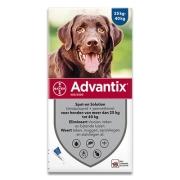 Advantix 400/2000 | Chien 25-40 kg |  6 pipettes (SIXPACK)
