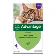 Advantage 80 | Kat 4-8kg | 4 pipetten