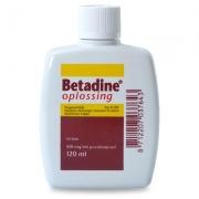 Betadine Jodium Opl. - 120 ml
