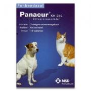 Panacur | KH 250 mg | 10 tabl