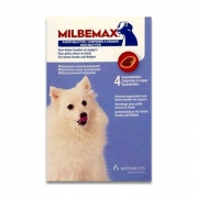 Milbemax Dog small/puppy Chewable tablet | 4 tabl
