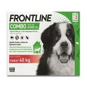 Frontline Combo Hond XL | 40-60 kg | 3 pipetten