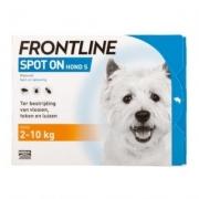 Frontline Spot-on Hond S | 2-10 kg | 4 pipetten